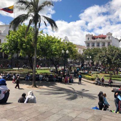 BLOG INTERNSHIP YELITH Quito-elcentrohistorico-plazagrande - Ecuador & Galapagos Tours