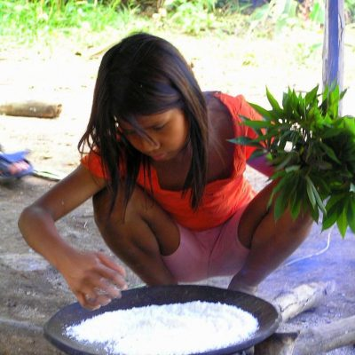 CUYABENO JUNGLE TOUR Community - Girl - Ecuador & Galapagos Tours