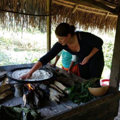 CUYABENO JUNGLE TOUR Community - Yuca bread - Ecuador & Galapagos Tours
