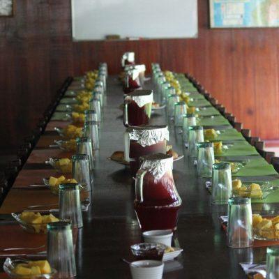 CUYABENO JUNGLE TOUR Lodge - Dining table - Ecuador & Galapagos Tours
