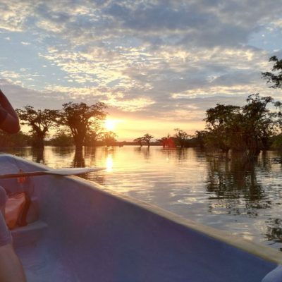 CUYABENO JUNGLE TOUR Surroundings - Canoe Laguna Grande - Ecuador & Galapagos Tours