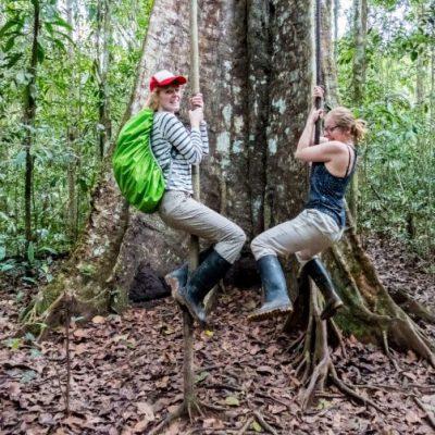 CUYABENO JUNGLE TOUR Surroundings - Liana - Ecuador & Galapagos Tours