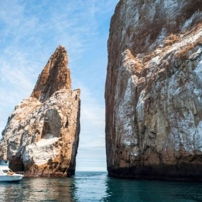 GALAPAGOS ISLAND HOPPING Activity - Kicker Rock - Ecuador & Galapagos Tours