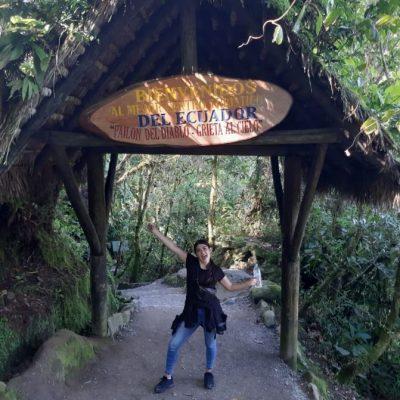 WHY BAÑOS A MUST VISIT IS WHEN TRAVELING TO ECUADOR Baños-pailón-del-diablo-hike-adoreecuador - Ecuador & Galapagos Tours