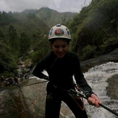 WHY BAÑOS A MUST VISIT IS WHEN TRAVELING TO ECUADOR Canyoning-Baños-abseiling-fun-adventures-adoreecuador - Ecuador & Galapagos Tours